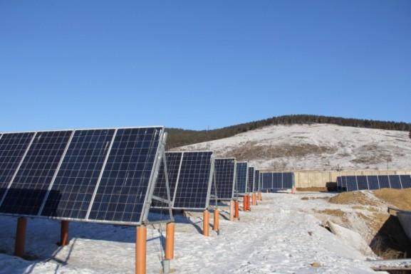 В Забайкалье запущена солнечная электростанция мощностью 150 кВт