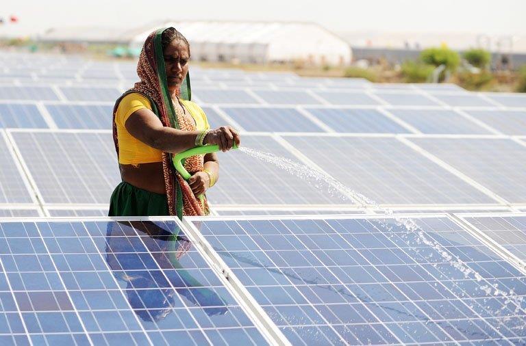 Рекордная цена в солнечной энергетике Индии