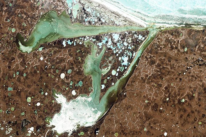 В Сибири создали первую установку для изучения газовых гидратов