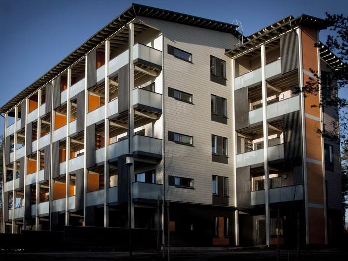 В Финляндии начали строить полностью энергонезависимые многоэтажки