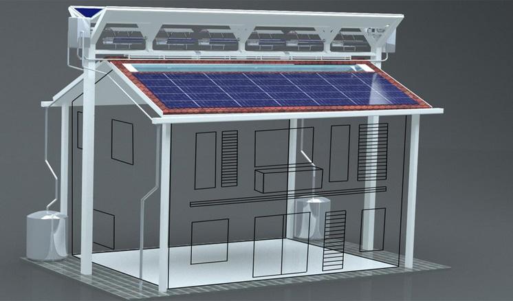 Энергоэффективная крыша из Малайзии