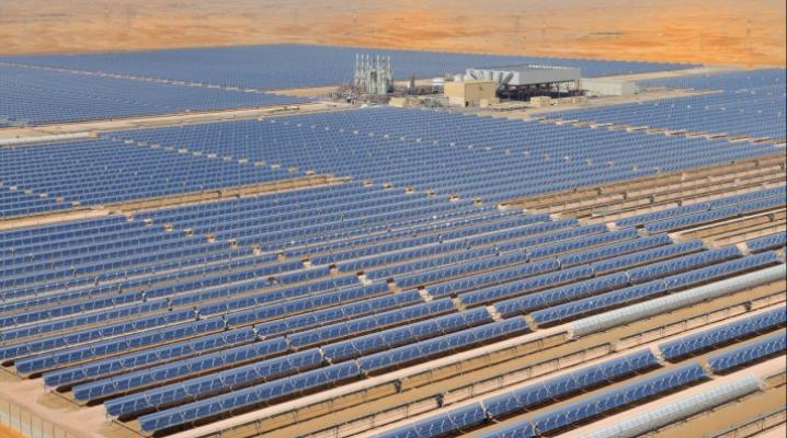 Строительство крупнейшей солнечной электростанции начинается в Абу-Даби