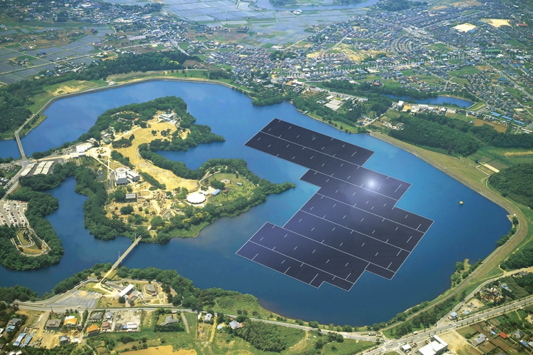Крупнейшая солнечная плавучая электростанция построена в Китае