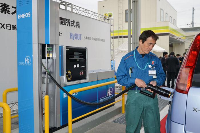 В Японии растет число водородных заправок