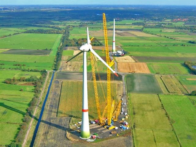 Российские ветряные станции будет строить западная компания