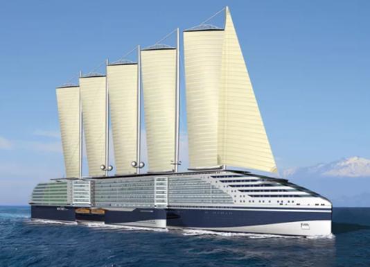 EOSEAS - круизный лайнер будущего