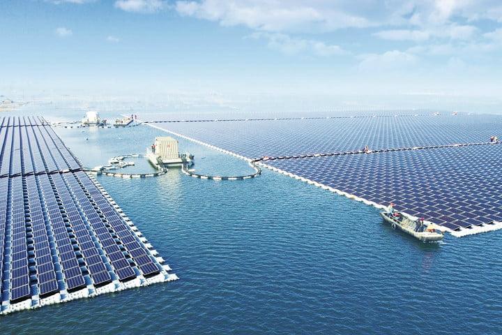 Крупнейшая в мире крутящаяся плавучая СЭС построена в Южной Корее
