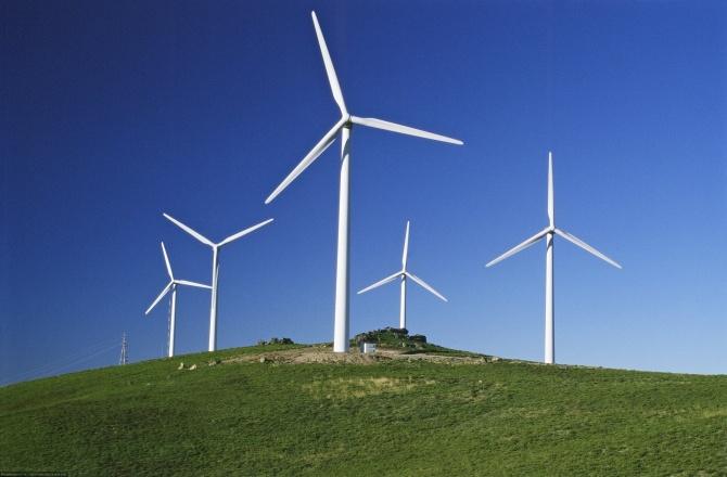 В Дании ветряные турбины ежегодно производят более 2300 кВт*ч на жителя страны