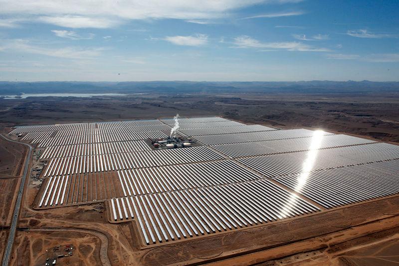 Сахара обеспечит Европу солнечной электроэнергией