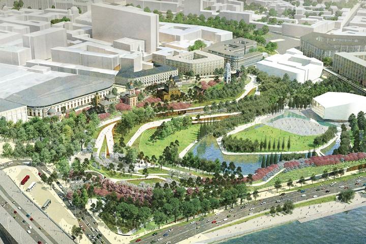 В Москве открыли инновационный парк «Зарядье»