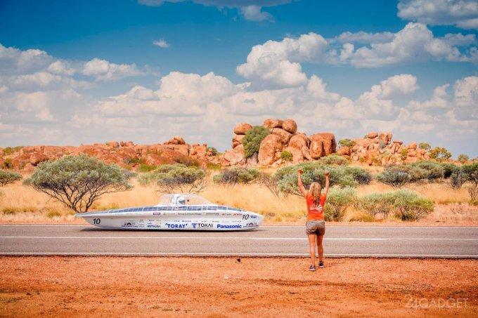 Австралийские гонки солнцемобилей