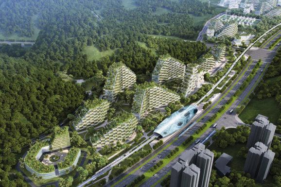 В Китае планируется строительство уникального города