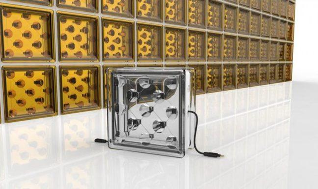 Дом из стеклянных блоков сможет самостоятельно вырабатывать электричество