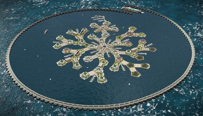 В Тихом океане построят первый в мире автономный плавучий остров