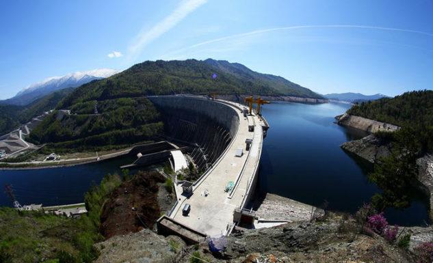 Саяно-Шушенскую гидроэлектростанцию модернизировали