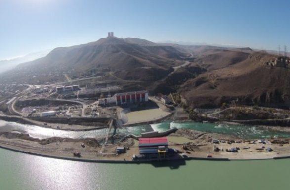 В Карачаево-Черкесии ведется интенсивное строительство Усть-Джегутинской малой ГЭС