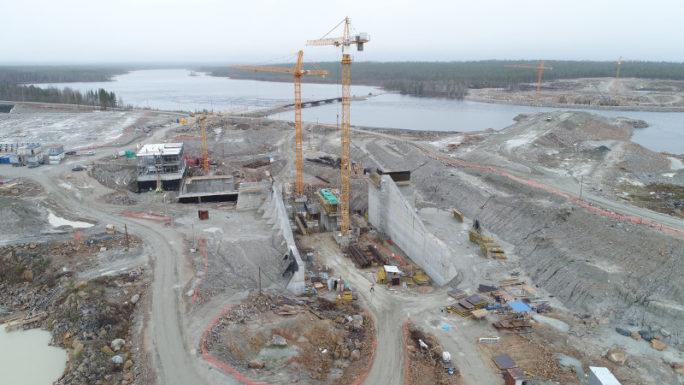 Идет строительство Белопорожских МГЭС