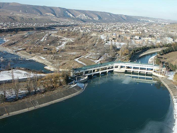 На строительстве Усть-Джегутинской МГЭС начат монтаж напорного трубопровода