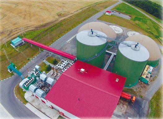 Биогазовая станция «Лучки» принимает первые партии свекловичного жома