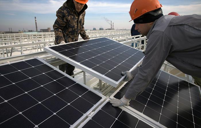 Две крупные солнечные электростанции запущены компанией Т Плюс