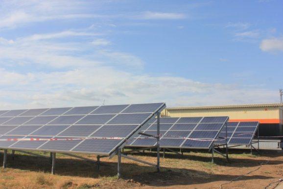 Запущена солнечная электростанция под Астраханью