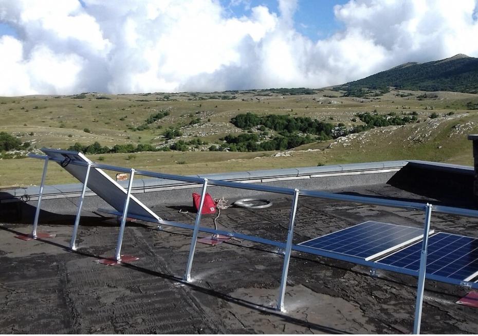 Проект электрификации заповедного места в Крыму на солнечных панелях DELTA