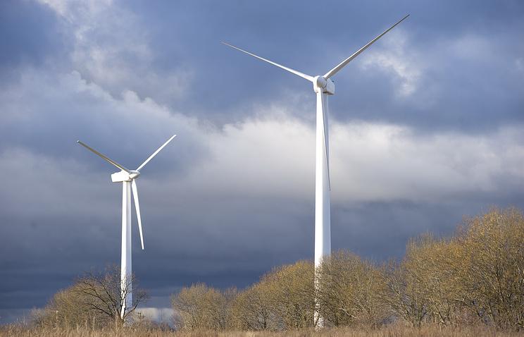Фото ветровая электростанция волк