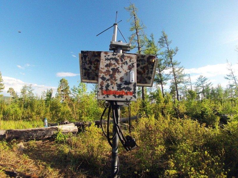 Автономный ретранслятор радиосигнала в горах Бурятии работает на солнечных панелях DELTA