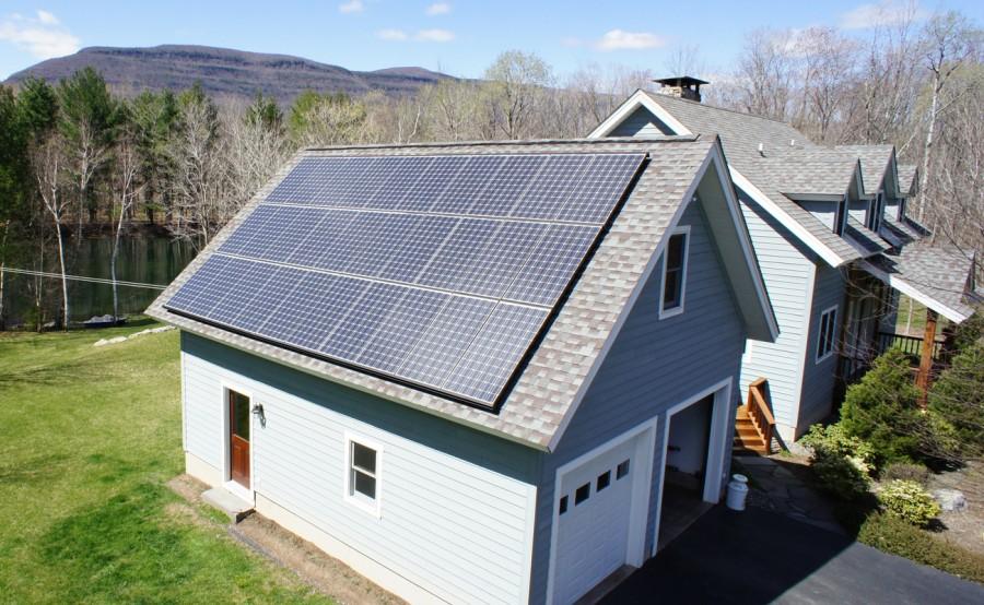 Белые солнечные панели Solaxess украсят фасады домов и обеспечат их «чистой» энергией
