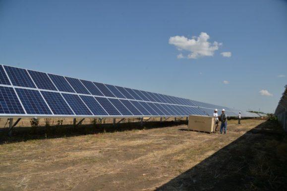 В Югре запущена солнечная электростанция