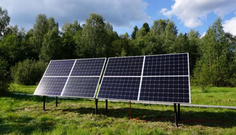 Установлена солнечная электростанция в заповеднике «Кивач»