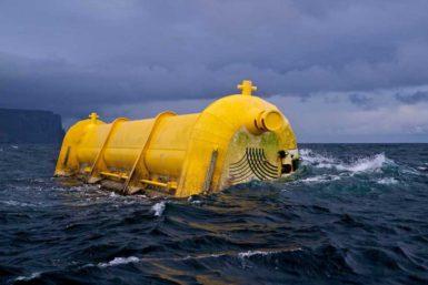 Крупнейший в мире буй-электростанция отправился собирать энергию волн