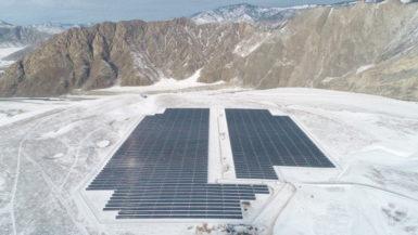 В Республике Алтай введены в эксплуатацию две новые солнечные электростанции