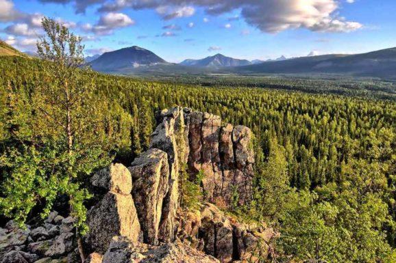 СЭС в Печоро-Илычском заповеднике