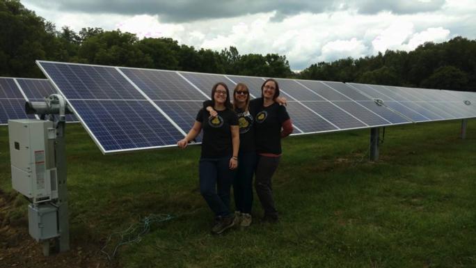 Third Sun Solar пожертвует батарею мощностью 7,4 кВт местному оздоровительному центру для женщин