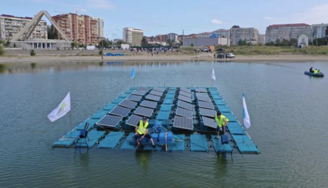 В Дагестане плавучая СЭС успешно прошла испытание штормом