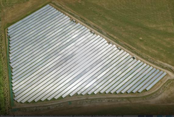 NJR Clean Energy Ventures завершение планировки солнечного полигона