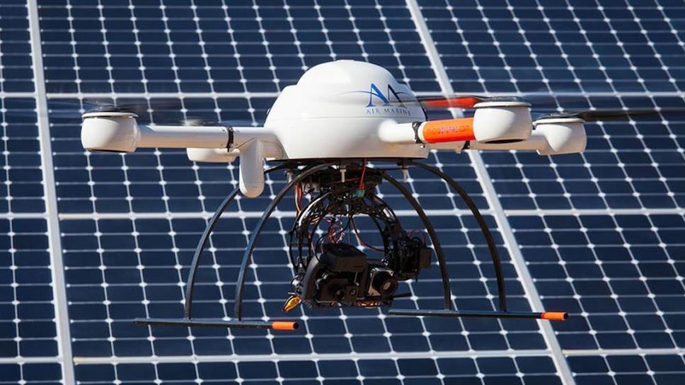 инспекции солнечных электростанций