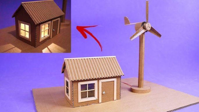 Удивительное видео о постройке мини-ветрогенератора