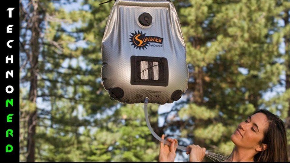 Видео - 5 удивительных вещей для кемпинга на солнечных батареях