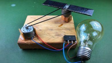 Генератор свободной энергии с использованием двигателя постоянного тока (Видео)